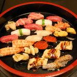 すし処 日の出 - 特上寿司(3人前)