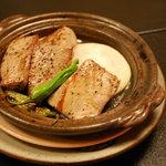 すし処 日の出 - マグロのステーキ