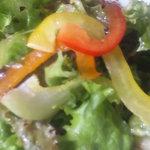 ぶどうの実 - 2009/10 ハーフ&ハーフプレートランチのサラダ