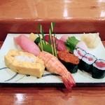 篠寿司 - 上寿司1680円。