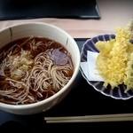 24060354 - 昼食の天ぷら蕎麦