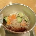 給食当番 - 春雨の中華サラダ