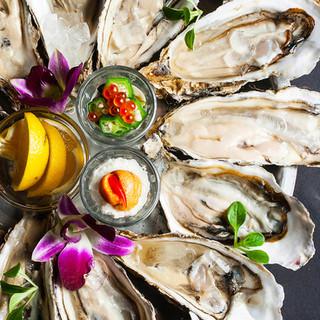 【寛ぎ個室で牡蠣を堪能】北海道産地直送活牡蠣を入荷