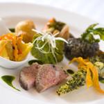 ジャルダン ポタジェ テラニシ - 野菜の前菜盛り合せ