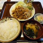 24064975 - 豚肉の生姜焼き定食