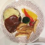 ホイッスルカフェ - ホイッスルハンバーグ(チーズ) 924円