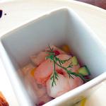 レストラン&バー Level 36 piazza - 明石タコと海老のカクテルサラダ