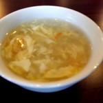 zanikugyouzashisenshuubou - スープも付いてきます
