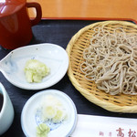 麺房 高松庵 - 料理写真:盛りそば