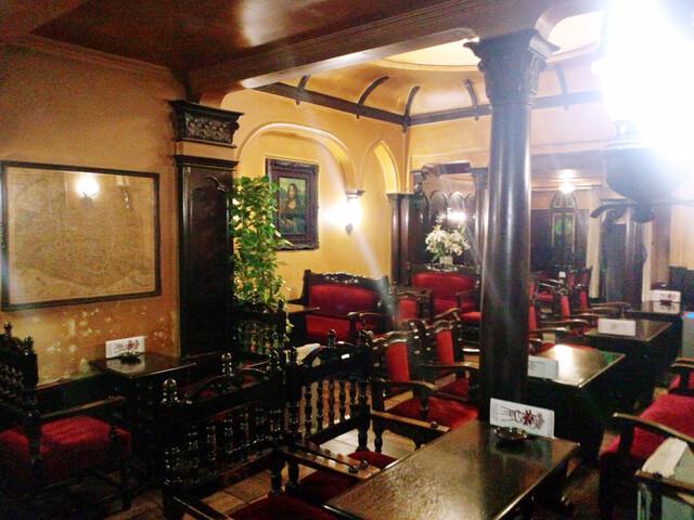 フランソア喫茶室 - 喫煙スペース。先ほどまで満席でした【'14.1月】