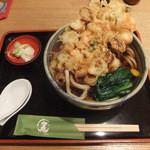 麦 kamiuma ASAHIYA - かき揚げうどん