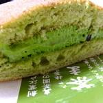 真茶園 茶町本店 - 抹茶生どらやき:210円