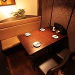 九州酒場だんだん. - 個室テーブル席 4名様