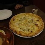 イタリアンバル バル道 - 夕食の代わりのピザ