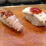 菊寿し - シャコ、鱧
