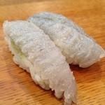菊寿し - エンガワ