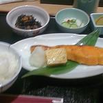 24073818 - サーモントラウト西京焼御膳(1,050円)