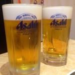 大陸食道 - 生ビール(大):500円・期間限定(2014.02/01~02/07)