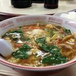 随心亭 - チャンポン麺+ライス