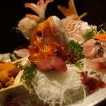 旬の海鮮 シーマーケット札幌 - てんこ盛り