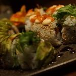 旬の海鮮 シーマーケット札幌 - ドラゴンロール