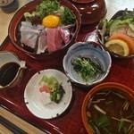 24077419 - 【海鮮丼】¥1350