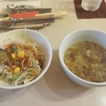 アルボッチョ - ランチのサラダ、スープ