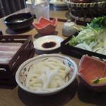 国産牛しゃぶしゃぶ・鶏料理 稲美 - ランチ全体