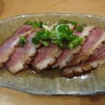 魚の匠 あさきぬ - 鴨ロース酒かす漬け 1000円