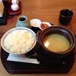 Sushi Dining 旬 - 地鶏スープの定食