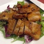 中国料理 李芳 - 鶏モモ肉のチャーシュー仕立て