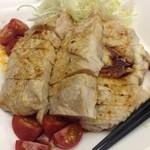 中国料理 李芳 - 蒸し鶏四川ソース