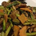 中国料理 李芳 - 豚肉ブラックビーンズ炒め