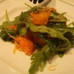 2408864 - クーポン利用のサラダ(にんじんと柿のマリネ)