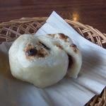 茶房 城山 - おやき(単品、150円)