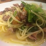 ポポラーレ - ホタルイカと菜の花のスパゲティ