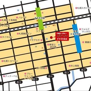 デリバリーOKのマップです。