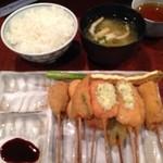 串膳 - 串膳定食(10品)