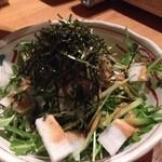 24083970 - じゃこと水菜のサラダ
