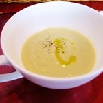 イルミオカンポ - ランチ2,415円Cコース「深谷ねぎのスープ」