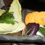 24085321 - 三浦半島の地野菜盛り合わせ