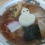 丸川屋 - 限定・雪おろしラーメン