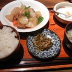 Chuugokutairikuryourisuisenkaku - 日替わり定食650円