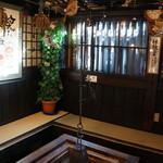 原田酒造場 - 囲炉裏のある一服処(2014.1.24)