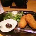 和食ダイニング まぐろ問屋 三浦三崎港 - 蟹クリームコロッケ