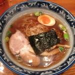 もくもく - らーめん+みにチャーシュー丼(850円)2014年2月