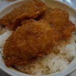 栄寿亭 - 料理写真:400えん『カツ丼A』2014.1