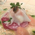 レストラン八間蔵 - 前菜のマリネ