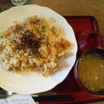 Abiantotsuto - ピラフはお味噌汁つき