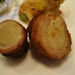 むかい灘 - エノキの豚肉巻き